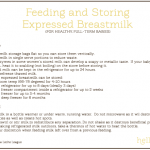 feeding and storing breastmilk png
