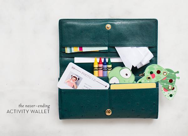 Mini Piccolini - DIY Activity Wallet