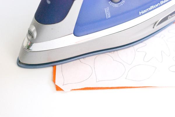 Iron the Freezer Paper to the Felt